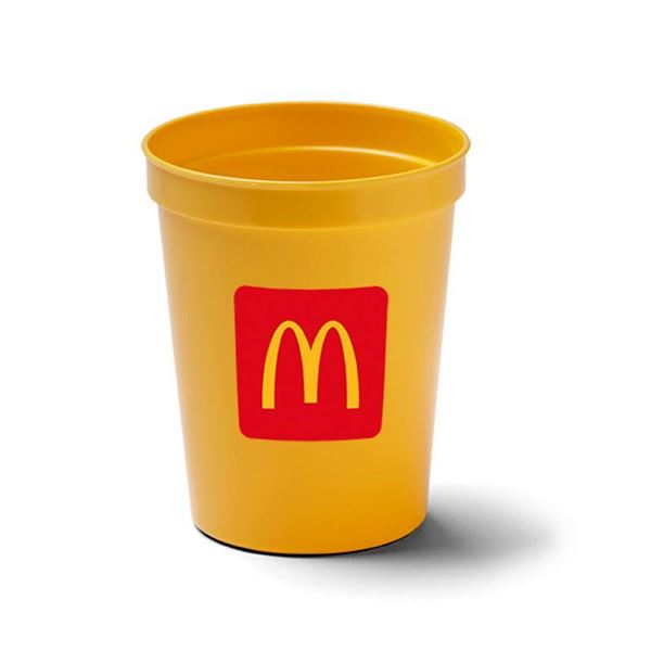 Picture of 16 oz Yellow Stadium Cup