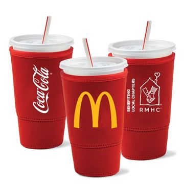 Picture of RMHC Sok-It® 30oz Universal SodaSok Cold Cup Sleeve 50/CS - Coca-Cola