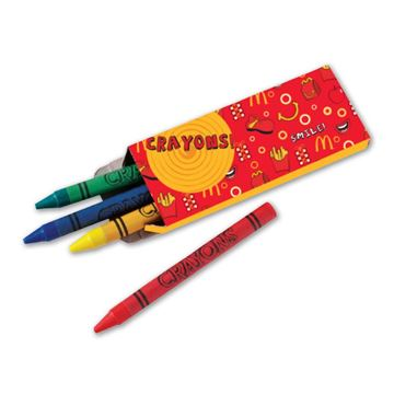 Picture of McD's Crayons - 100 per Case
