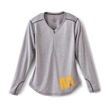 Picture of Ladies' Quadra Sport Long Sleeve Top