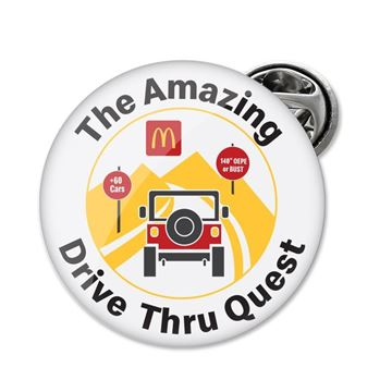Picture of Amazing Drive Thru Quest Lapel Pin