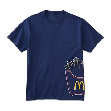Picture of Fry Box Icon Outline Tee