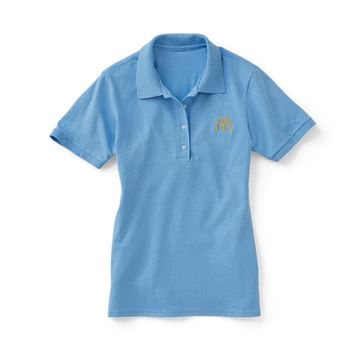Picture of Ladies' Light Blue Polo