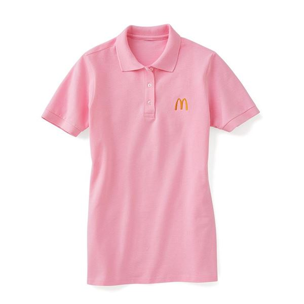 Picture of Ladies' Light Pink Polo