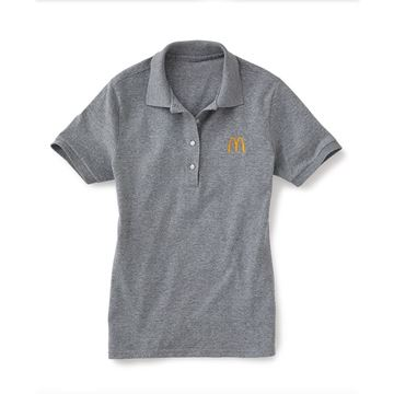Picture of Ladies' Grey Polo