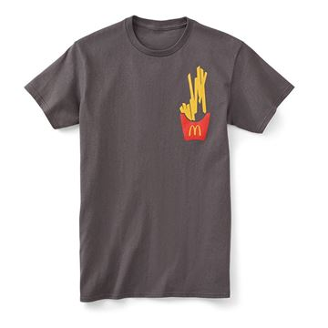 Picture of Falling Fries Tee
