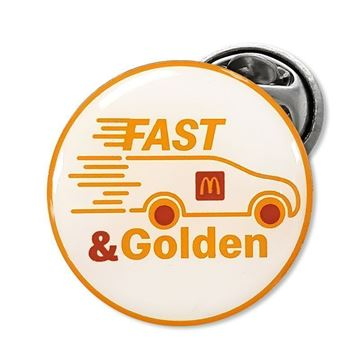 Picture of Fast & Golden Lapel Pin