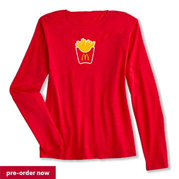 Picture of Fry Box Icon Knit Loungewear Tee