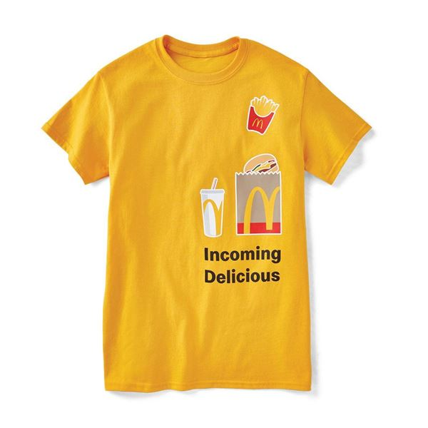 Picture of Gold Incoming Delicious Tee