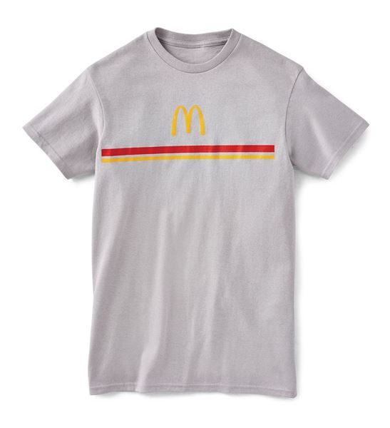 Picture of Grey Stripe Tee