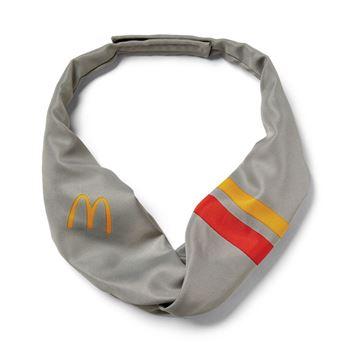 Picture of Ladies Grey Stripe Tie