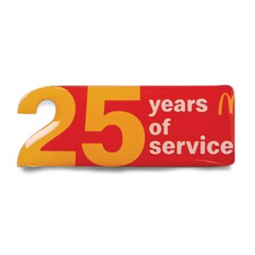 Picture of 25 Years of Service Pin