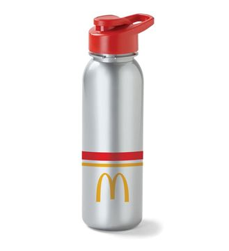 Picture of Arches Stripes Grey Water Bottle