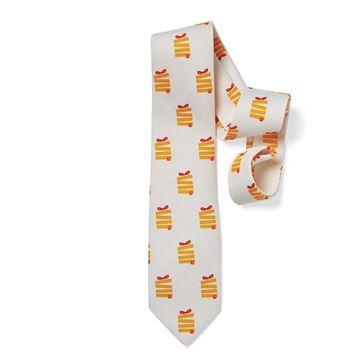 Picture of Men's Jumble Fries Present Tie