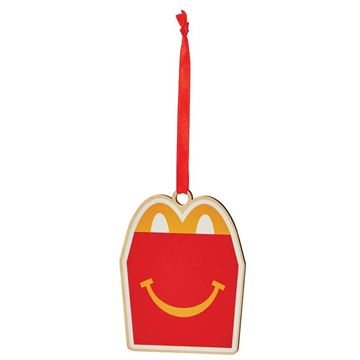 Picture of Happy Meal Wood Ornament