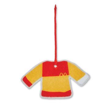 Picture of Colorblock Xmas Felt Sweater Ornament