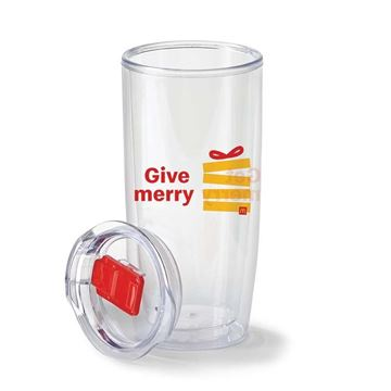 Picture of Give Merry, Get Merry Clear Hot/Cold 19oz Tumbler