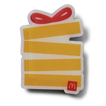 Picture of Jumble Fries Present Box Pin