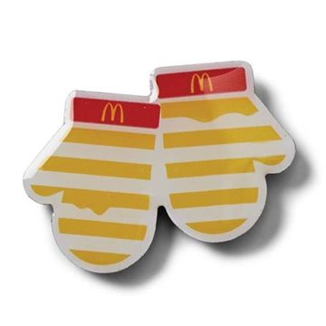 Picture of Melty Cheese Mittens Pin