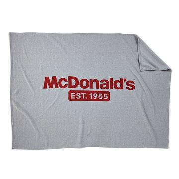 Picture of McDonald's Grey Sweatshirt Blanket - Small